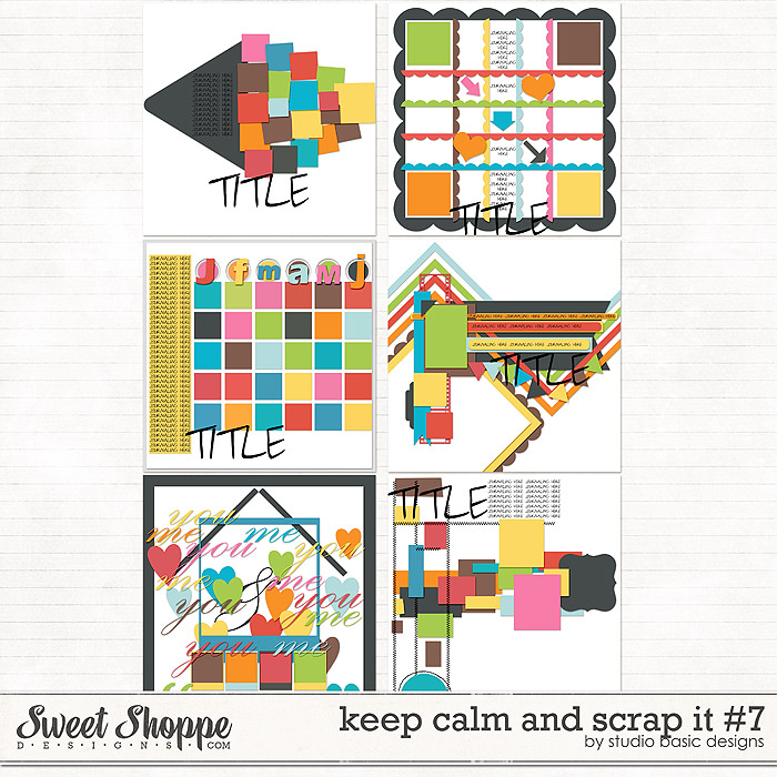 Keep Calm and Scrap It #7 by Studio Basic