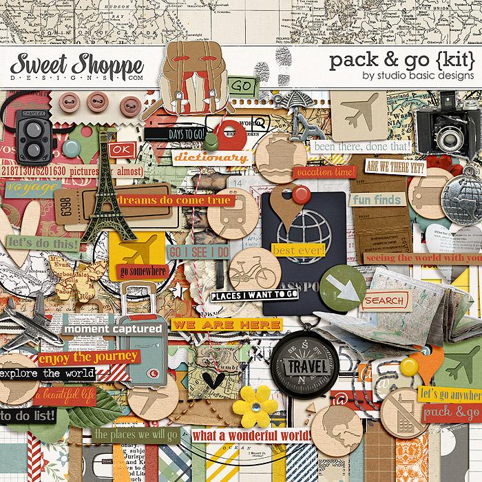 Pack & Go Kit by Studio Basic