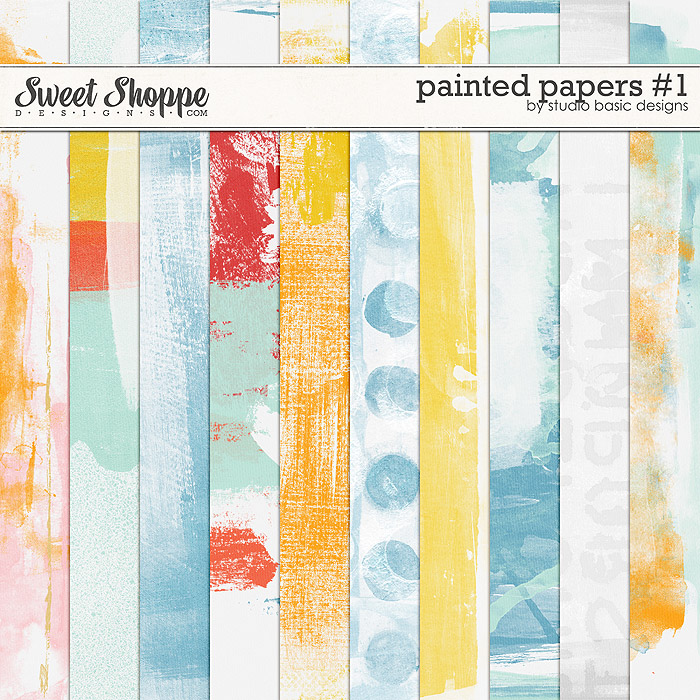 Painted Papers #1 by Studio Basic
