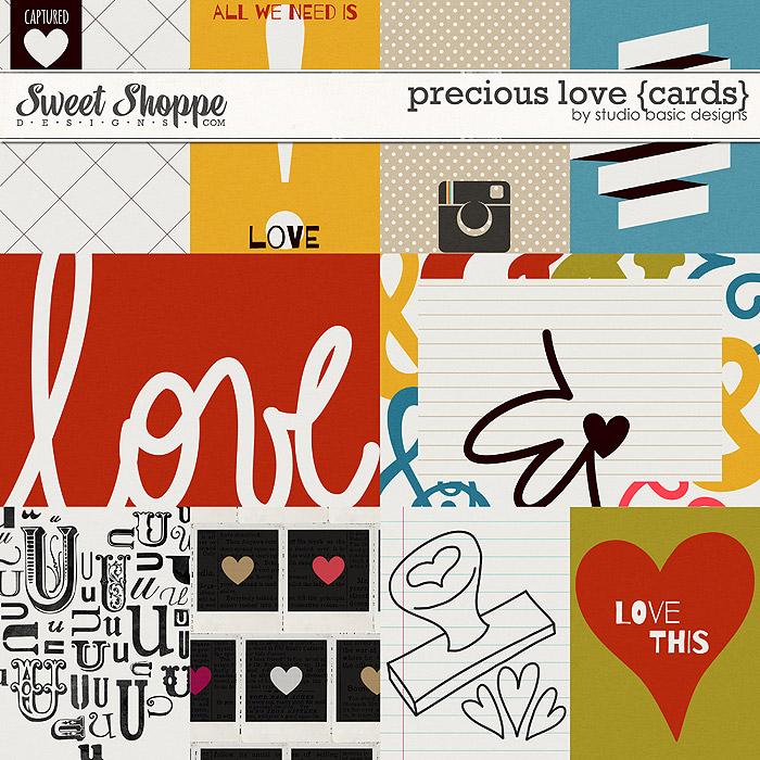 Precious Love {cards} by Studio Basic