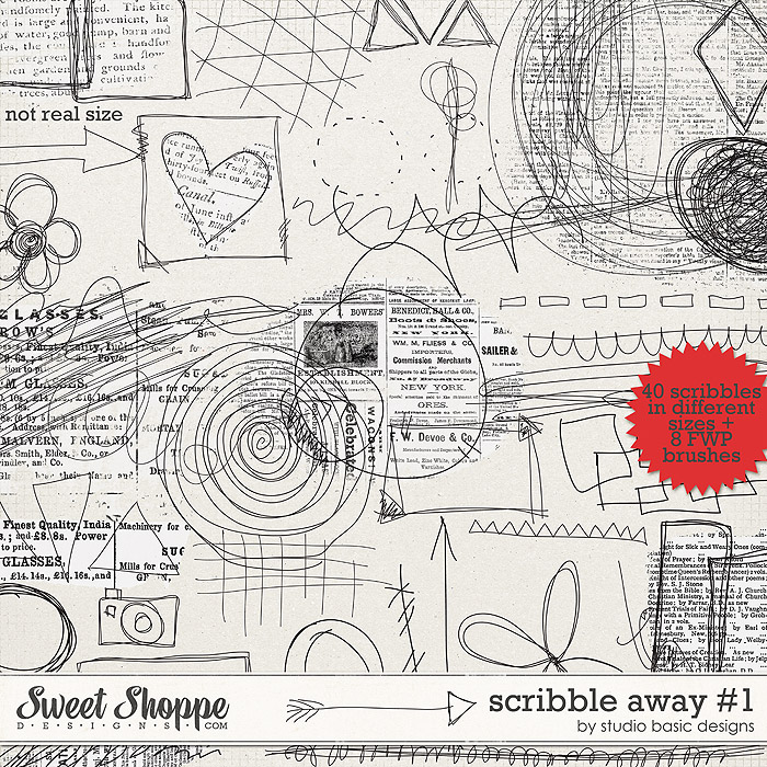 Scribble Away #1 by Studio Basic