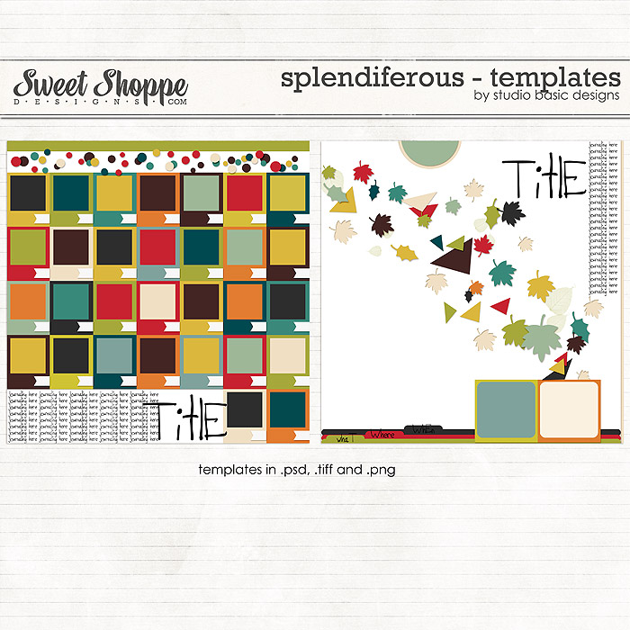 Splendiferous - Templates by Studio Basic