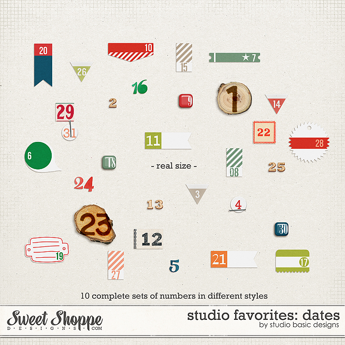 Studio Favorites: Dates by Studio Basic