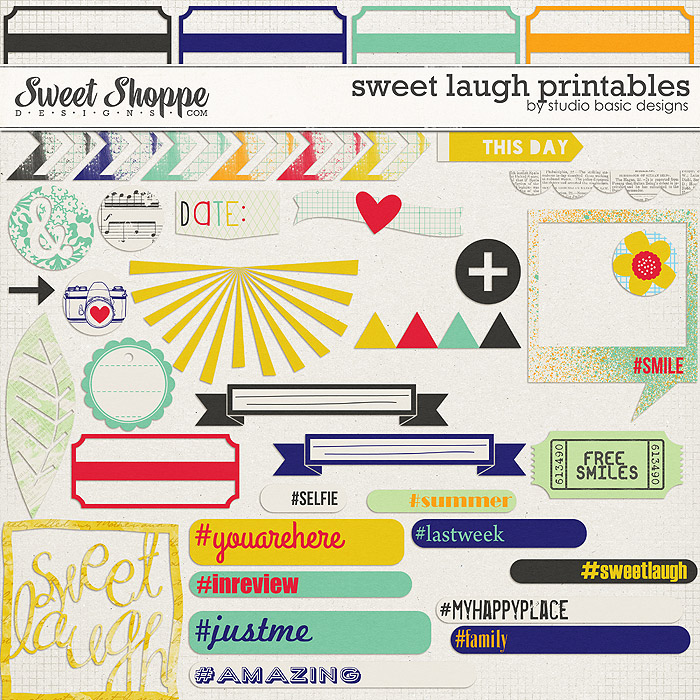 Sweet Laugh Printables by Studio Basic
