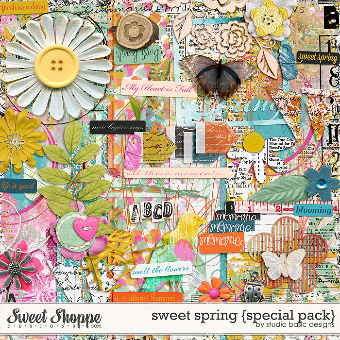 Sweet Spring {special pack} by Studio Basic