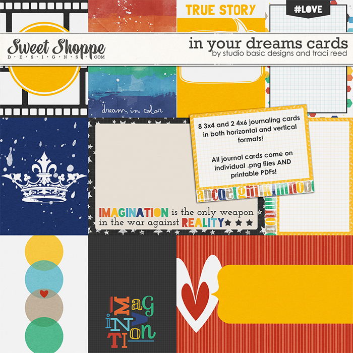 In Your Dreams Cards by Traci Reed and Studio Basic