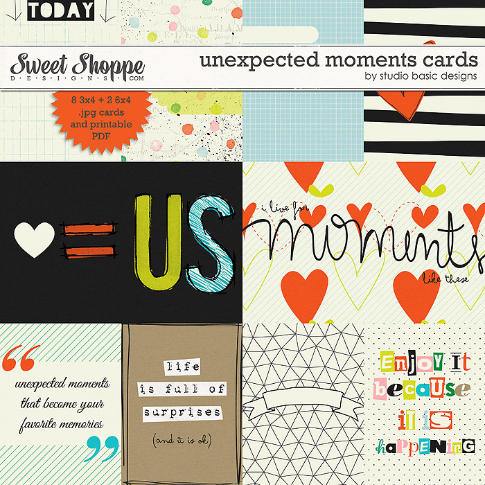 Unexpected Moments Cards by Studio Basic