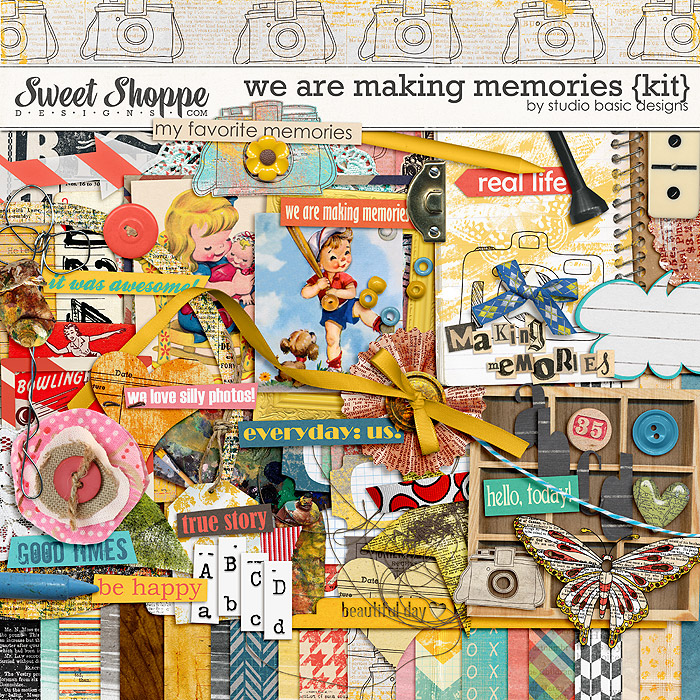 We Are Making Memories by Studio Basic