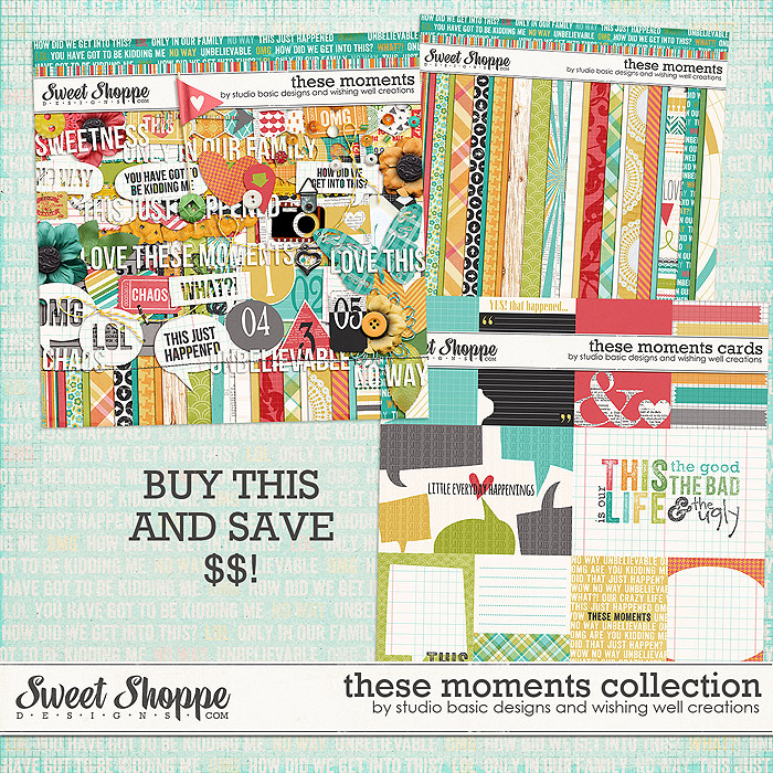 These Moments Collection by Studio Basic and Wishing Well Creations