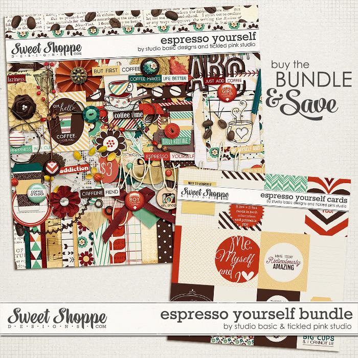 Espresso Yourself Bundle by Studio Basic & Tickled Pink Studio