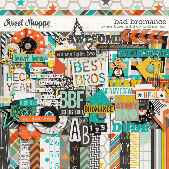Bad Bromance by Jenn Barrette and Shawna Clingerman