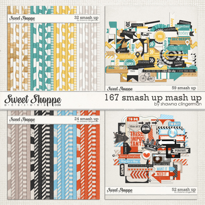 167 Smash Up Mash Up Bundle
