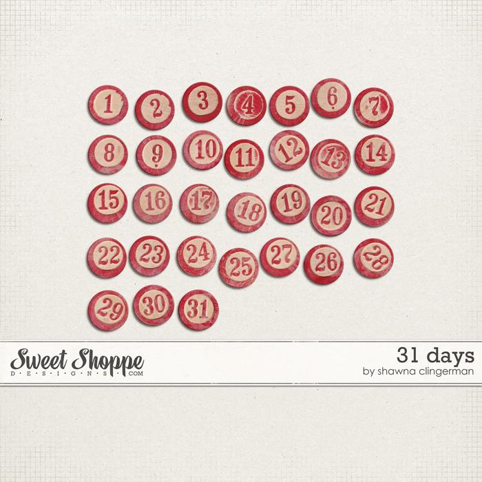 31 Days by Shawna Clingerman