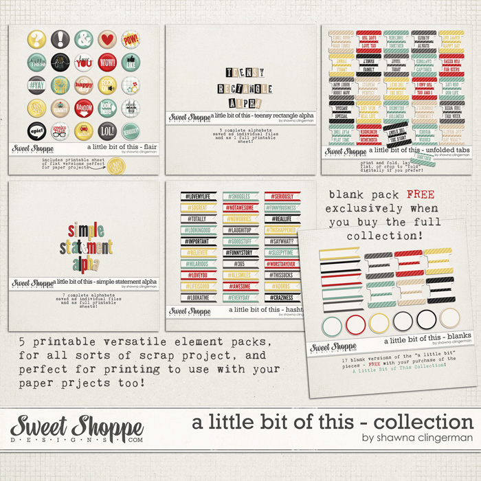 A Little Bit of This - Collection by Shawna Clingerman