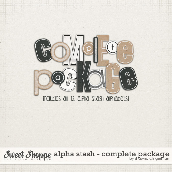 Alpha Stash: Complete Package by Shawna Clingerman
