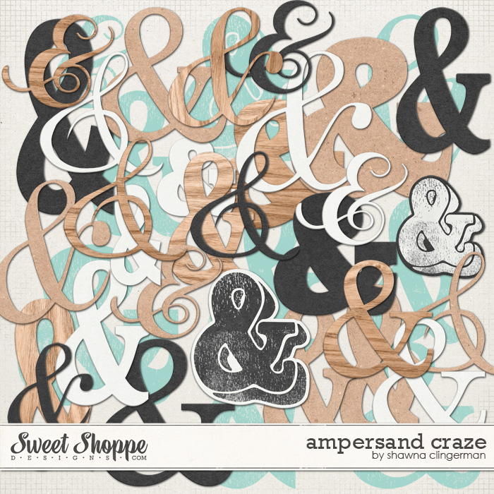 Ampersand Craze by Shawna Clingerman