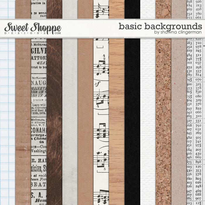 Basic Backgrounds by Shawna Clingerman