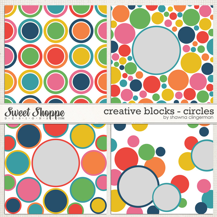 Creative Blocks: Circles by Shawna Clingerman