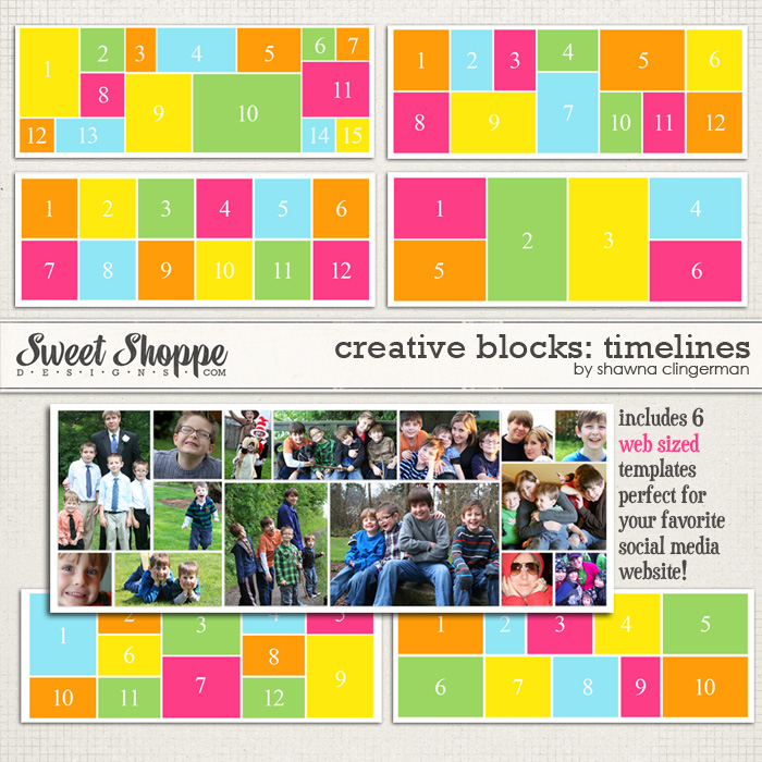 Creative Blocks: Timelines by Shawna Clingerman