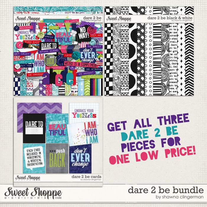 Dare 2 Be - Bundle by Shawna Clingerman