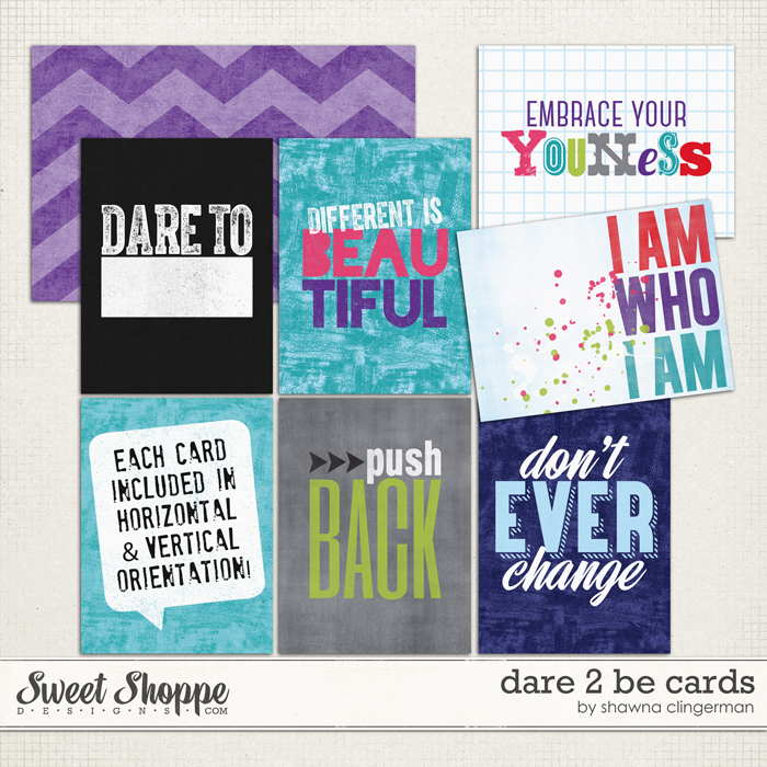 Dare 2 Be - Cards by Shawna Clingerman
