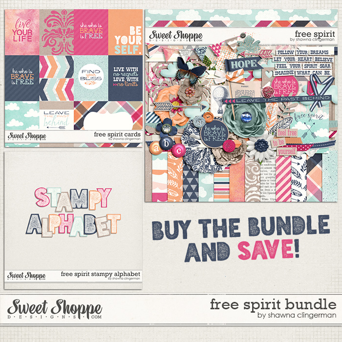 Free Spirit Bundle by Shawna Clingerman