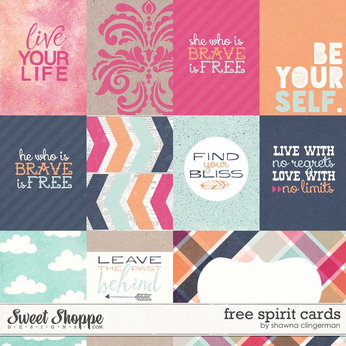 Free Spirit Cards by Shawna Clingerman