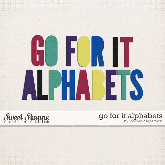 Go For It Alphabets by Shawna Clingerman
