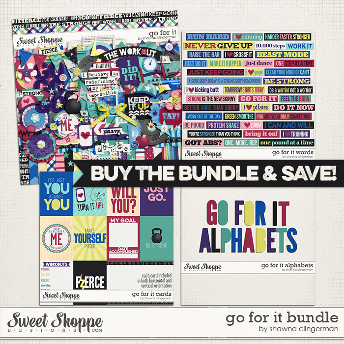 Go For It Bundle by Shawna Clingerman