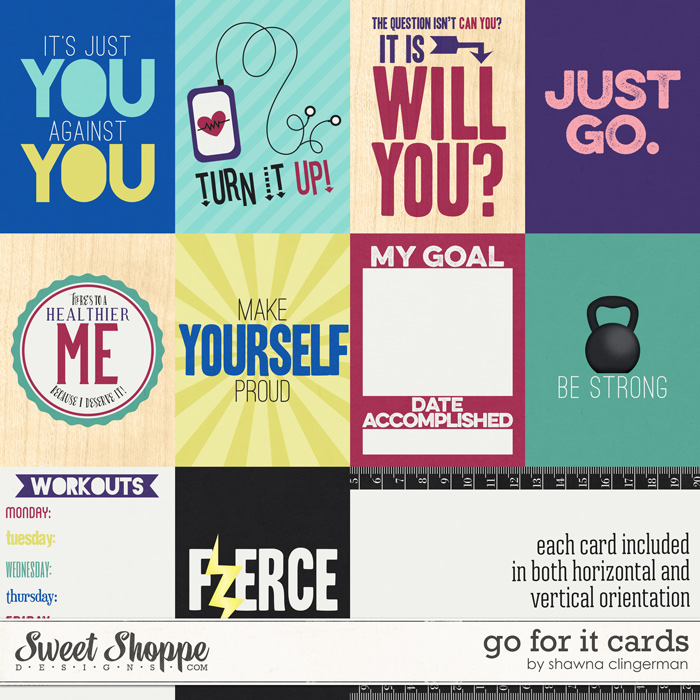 Go For It Cards by Shawna Clingerman