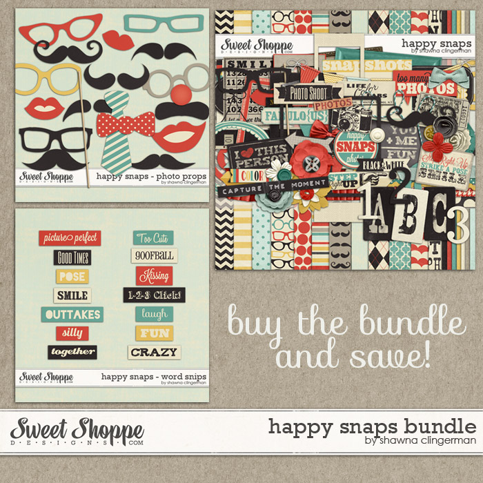 Happy Snaps - Bundle by Shawna Clingerman