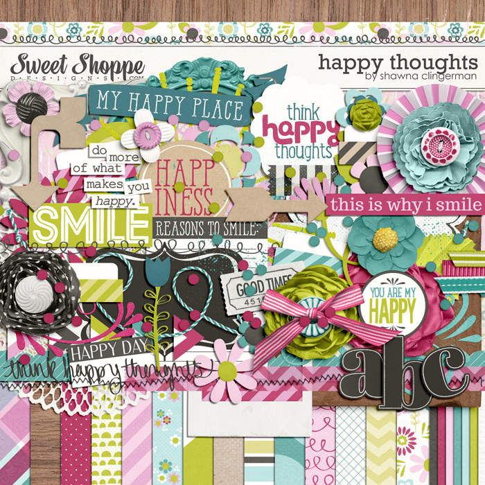 Happy Thoughts by Shawna Clingerman