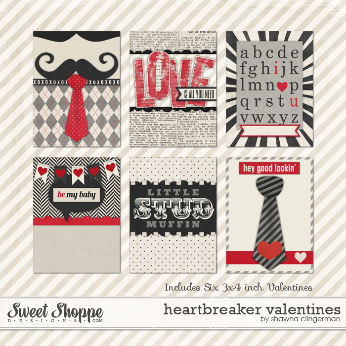 Heartbreaker Valentines by Shawna Clingerman