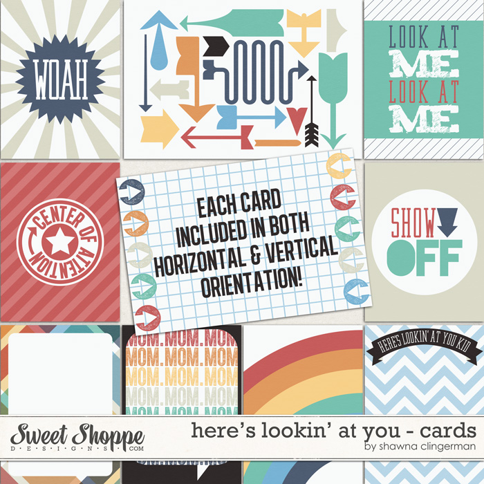 Here's Lookin' at You - Cards by Shawna Clingerman