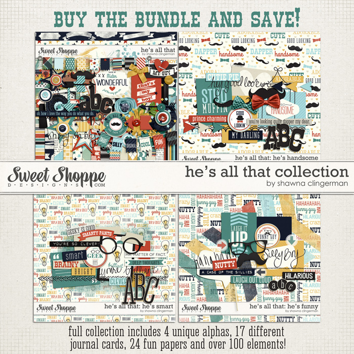 He's All That Collection by Shawna Clingerman