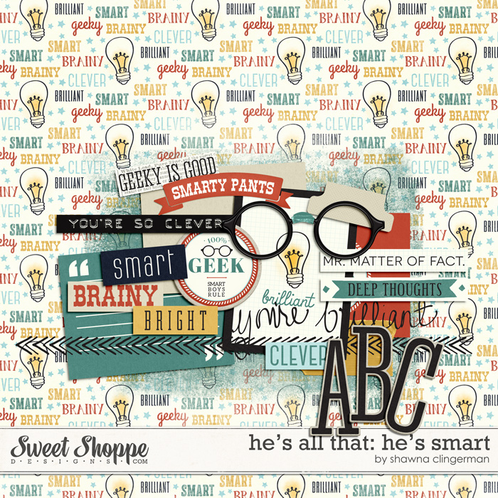 He's All That: He's Smart by Shawna Clingerman