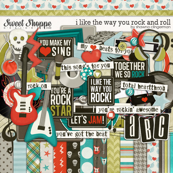 I Like the Way you Rock and Roll by Shawna Clingerman
