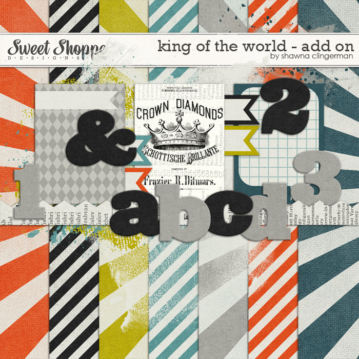 King of the World - Add On by Shawna Clingerman