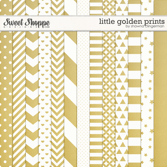 Little Golden Prints by Shawna Clingerman