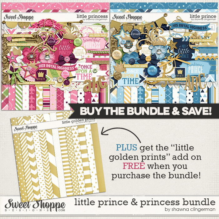 Little Prince & Princess Bundle by Shawna Clingerman