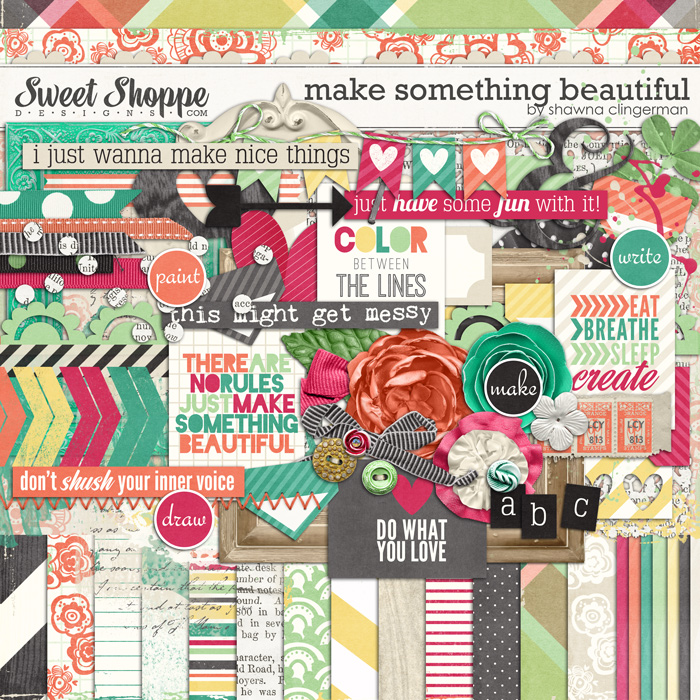 Make Something Beautiful by Shawna Clingerman