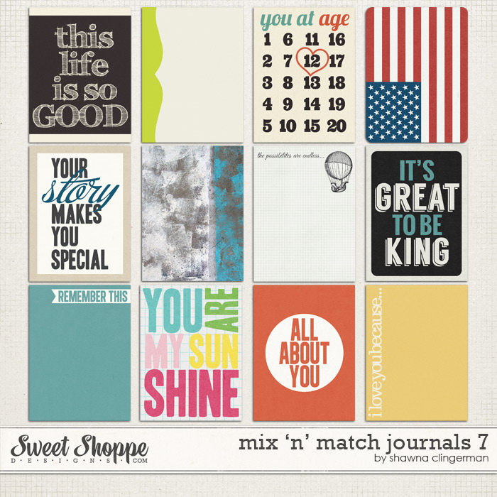 Mix 'n' Match Journals 7 by Shawna Clingerman