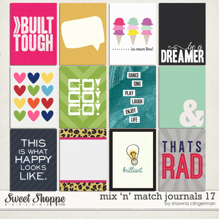 Mix 'n' Match Journals 17 by Shawna Clingerman