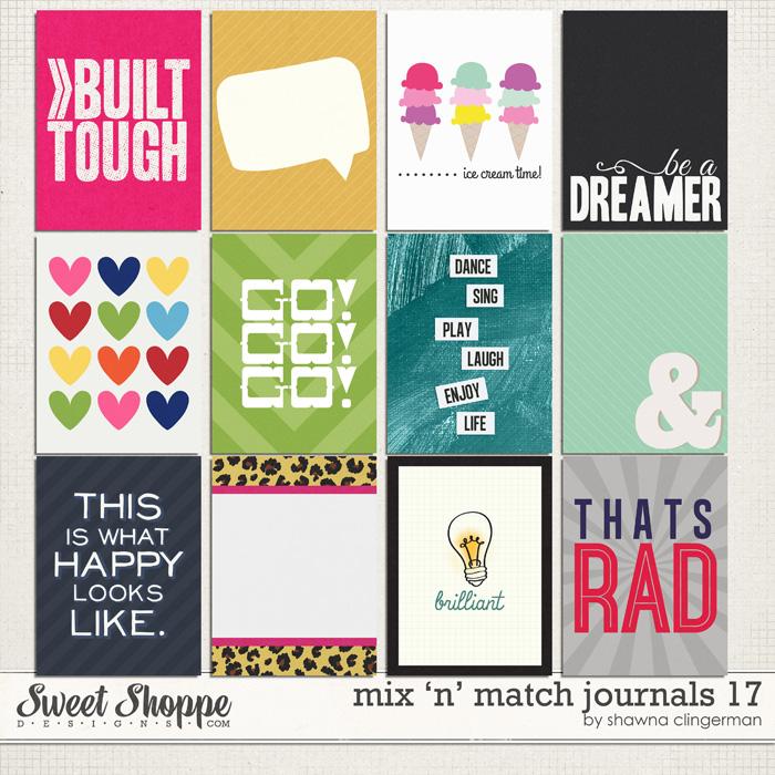 Mix 'n' Match Journals 17 by Shawna Clingerman