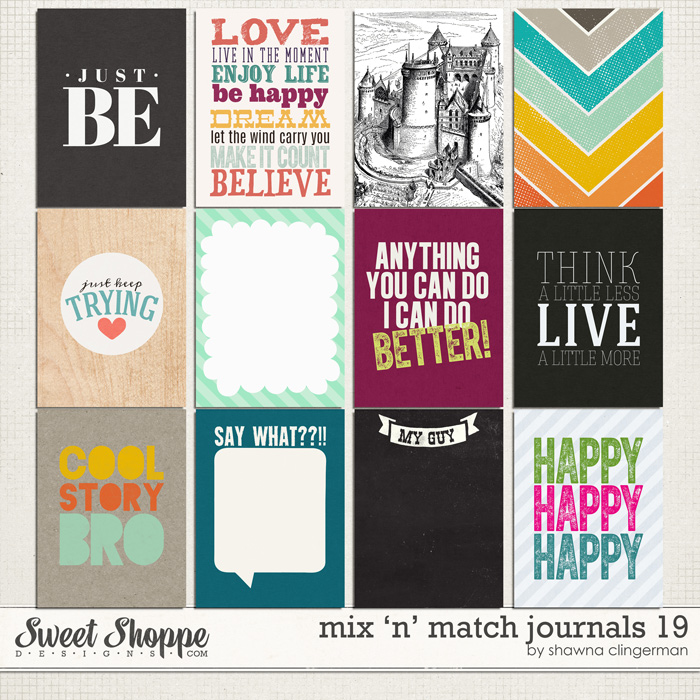 Mix 'n' Match Journals 19 by Shawna Clingerman