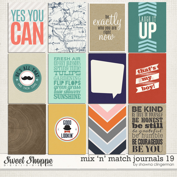 Mix 'n' Match Journals 20 by Shawna Clingerman