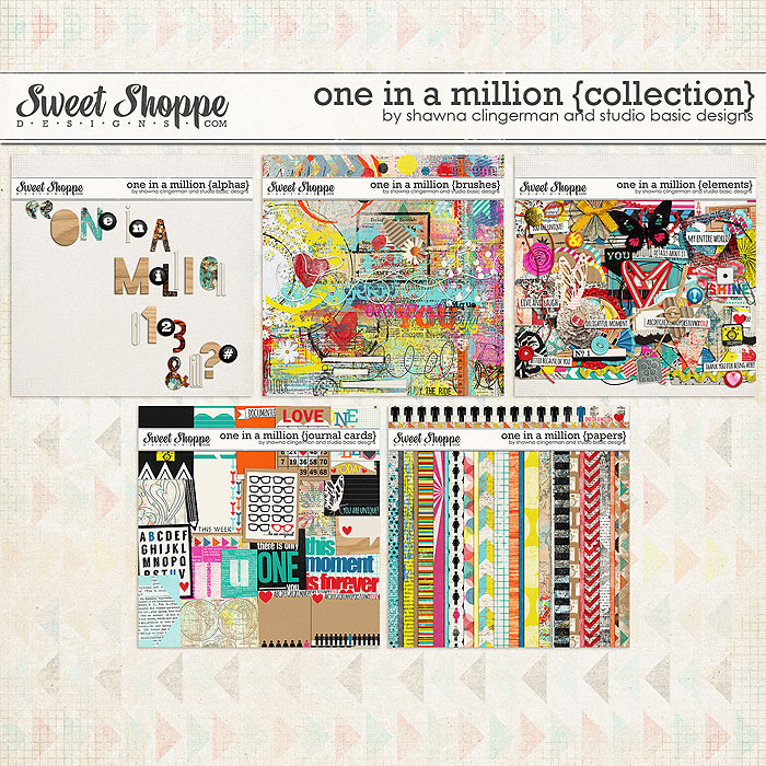 One in a Million {Collection} by Shawna Clingerman and Studio Basic