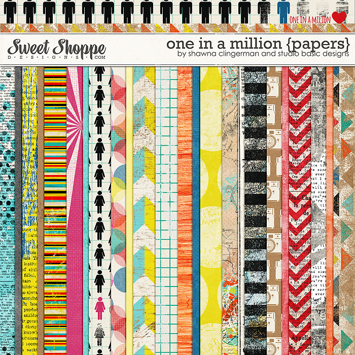 One in a Million {Papers} by Shawna Clingerman and Studio Basic