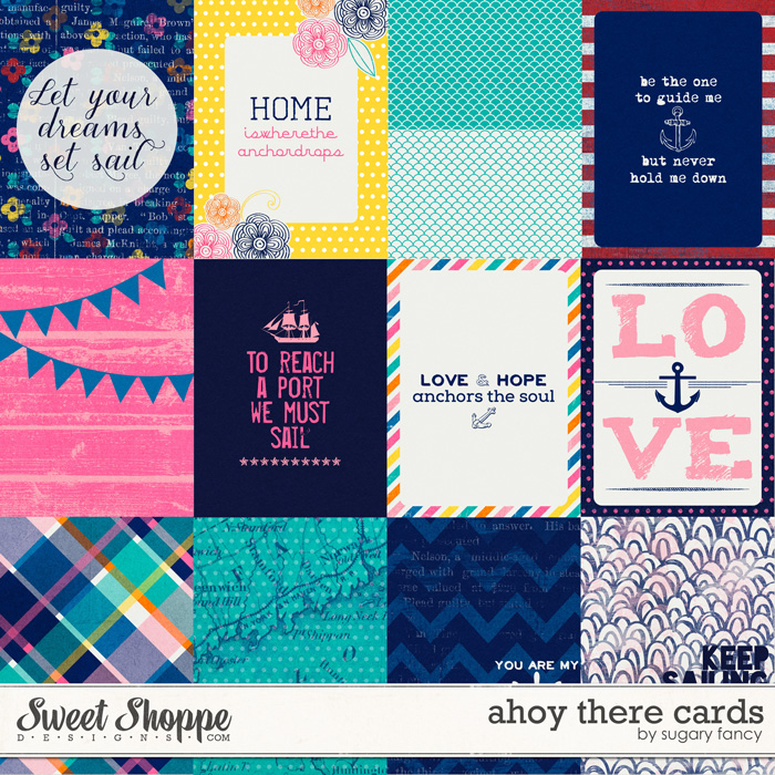 Ahoy There Cards by Sugary Fancy