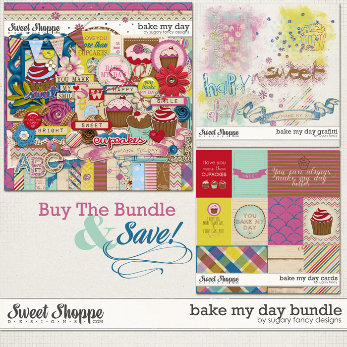 Bake my Day Bundle by Sugary Fancy